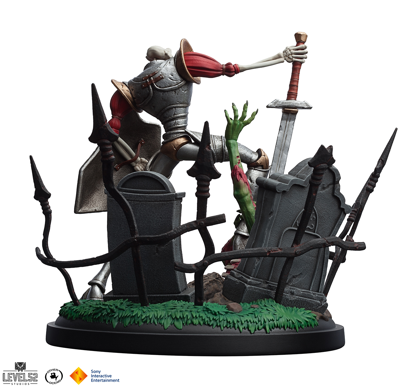 MediEvil Sir Dan Fortesque Statue 002