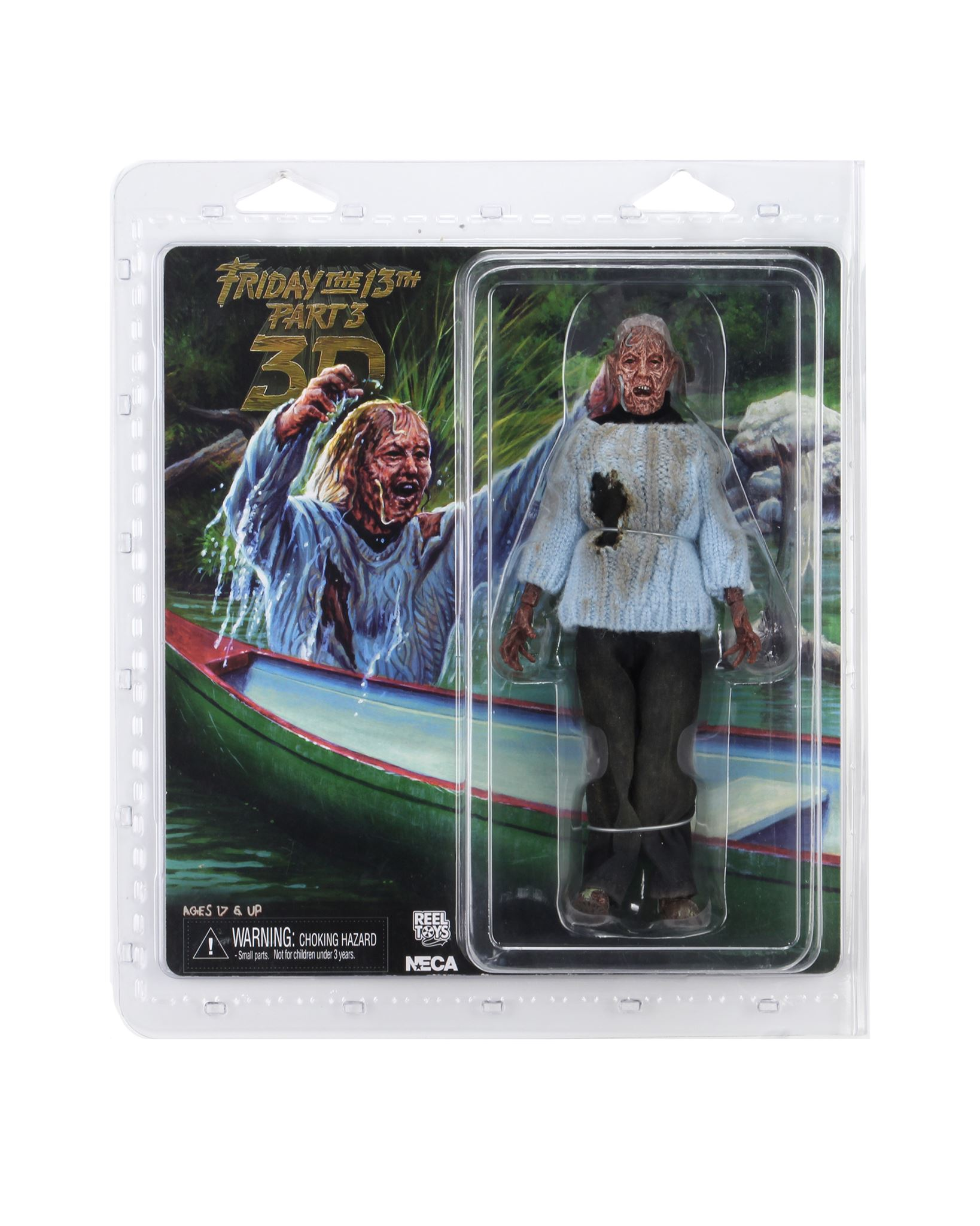 NECA Friday The 13th Corpse Pamela Packaging 001