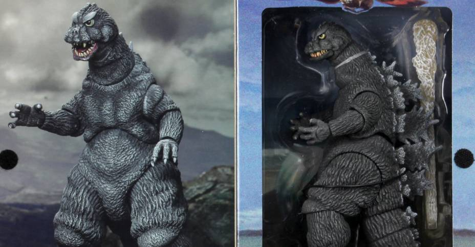 NECA Godzilla 1964 Packaging 004