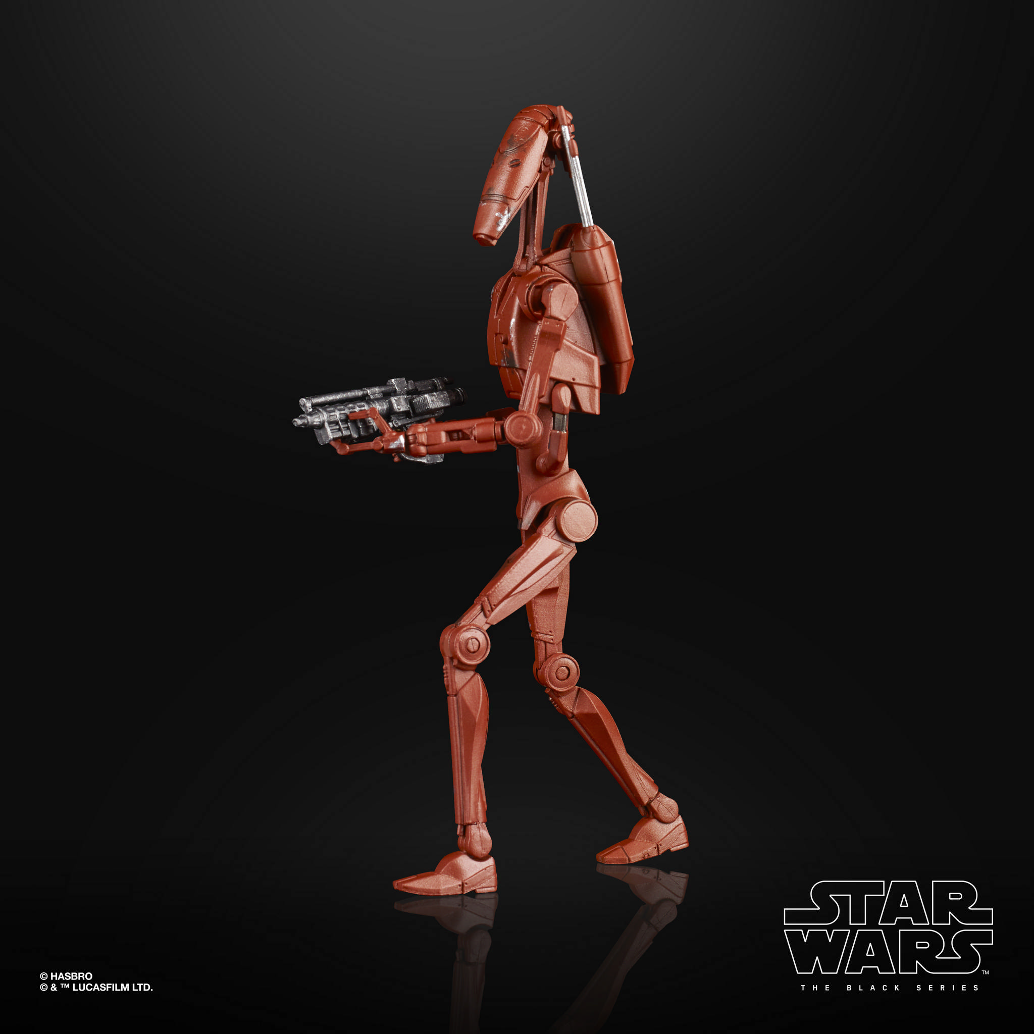 STAR WARS THE BLACK SERIES 6 INCH BATTLE DROID Figure 2