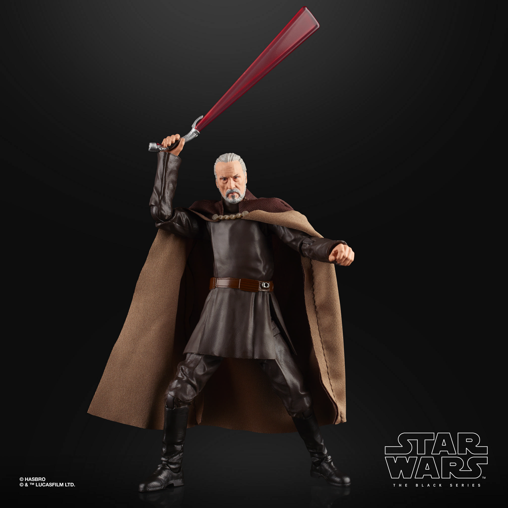 STAR WARS THE BLACK SERIES 6 INCH COUNT DOOKU Figure 1