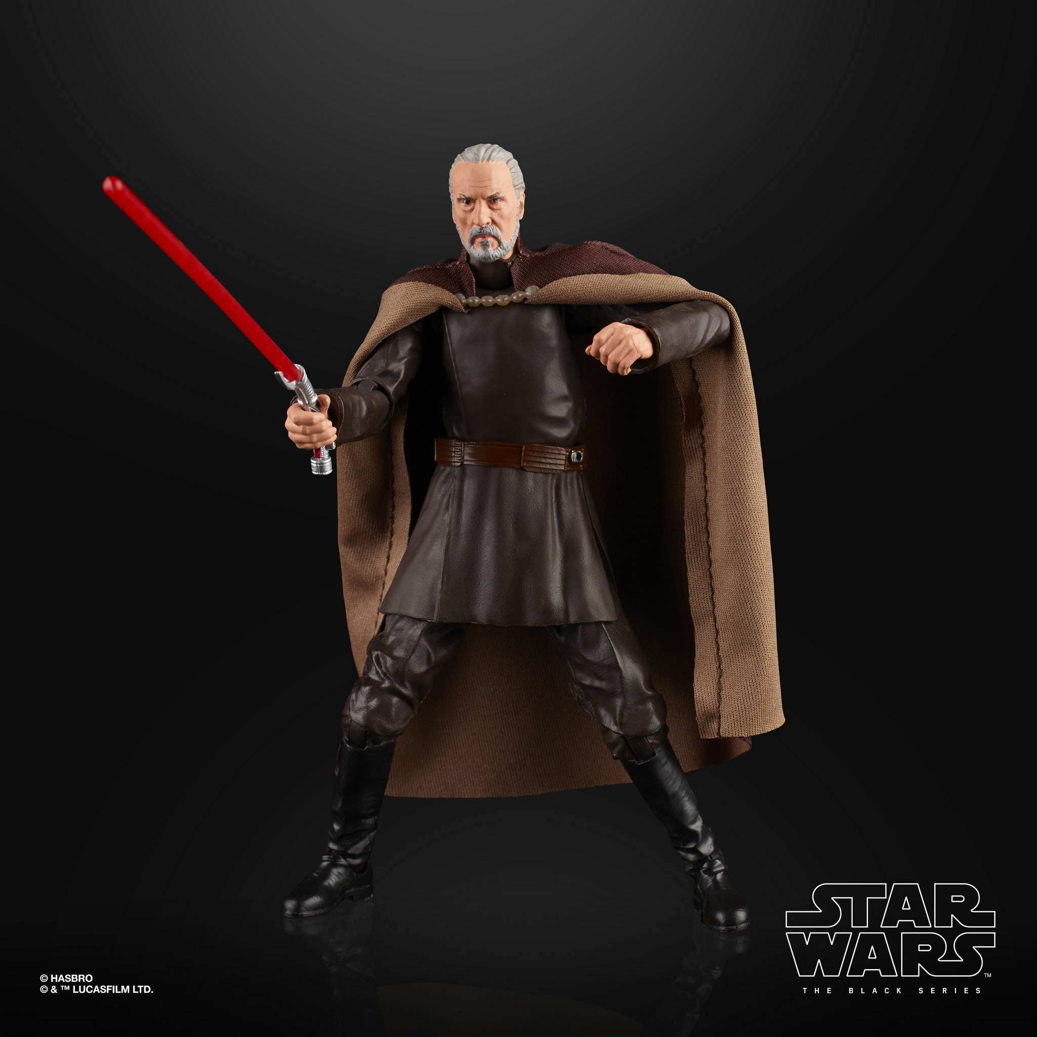 STAR WARS THE BLACK SERIES 6 INCH COUNT DOOKU Figure 3