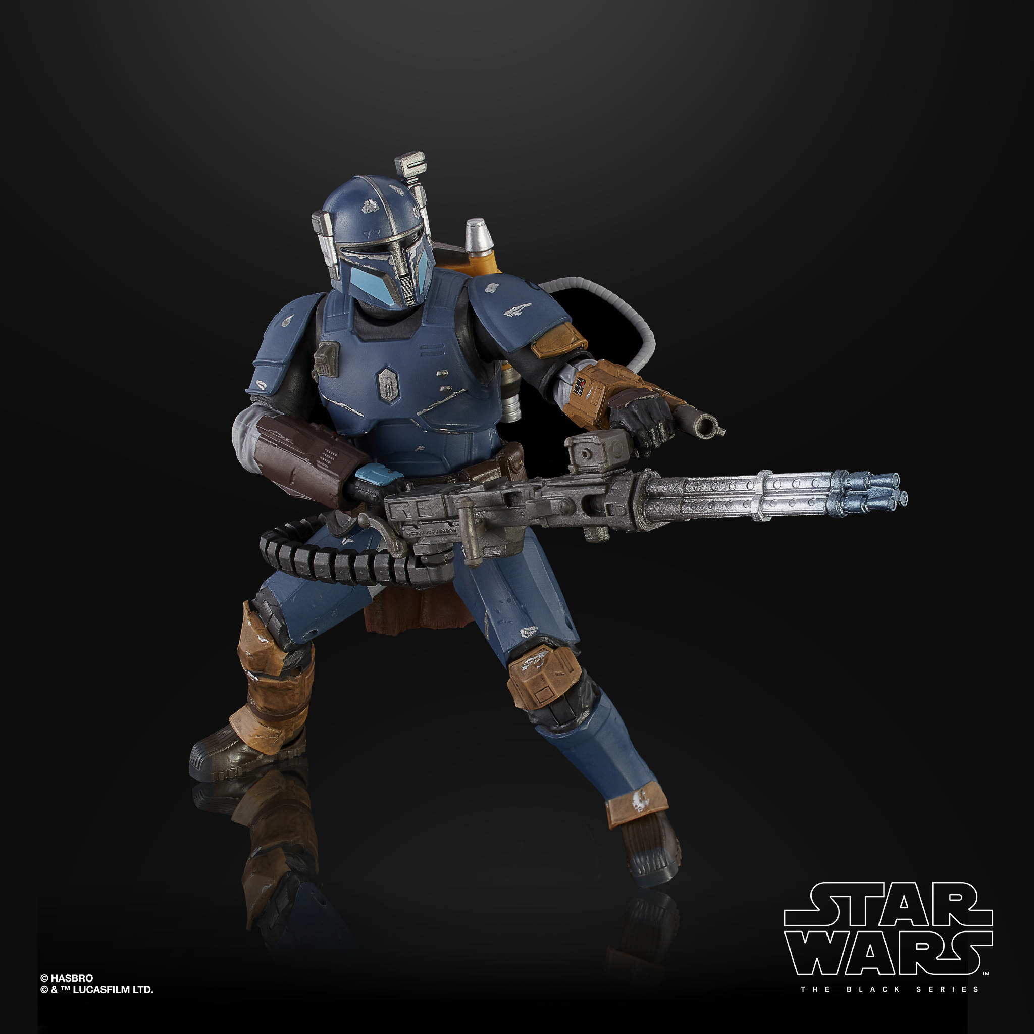 STAR WARS THE BLACK SERIES 6 INCH HEAVY INFANTRY MANDALORIAN Figure oop 3