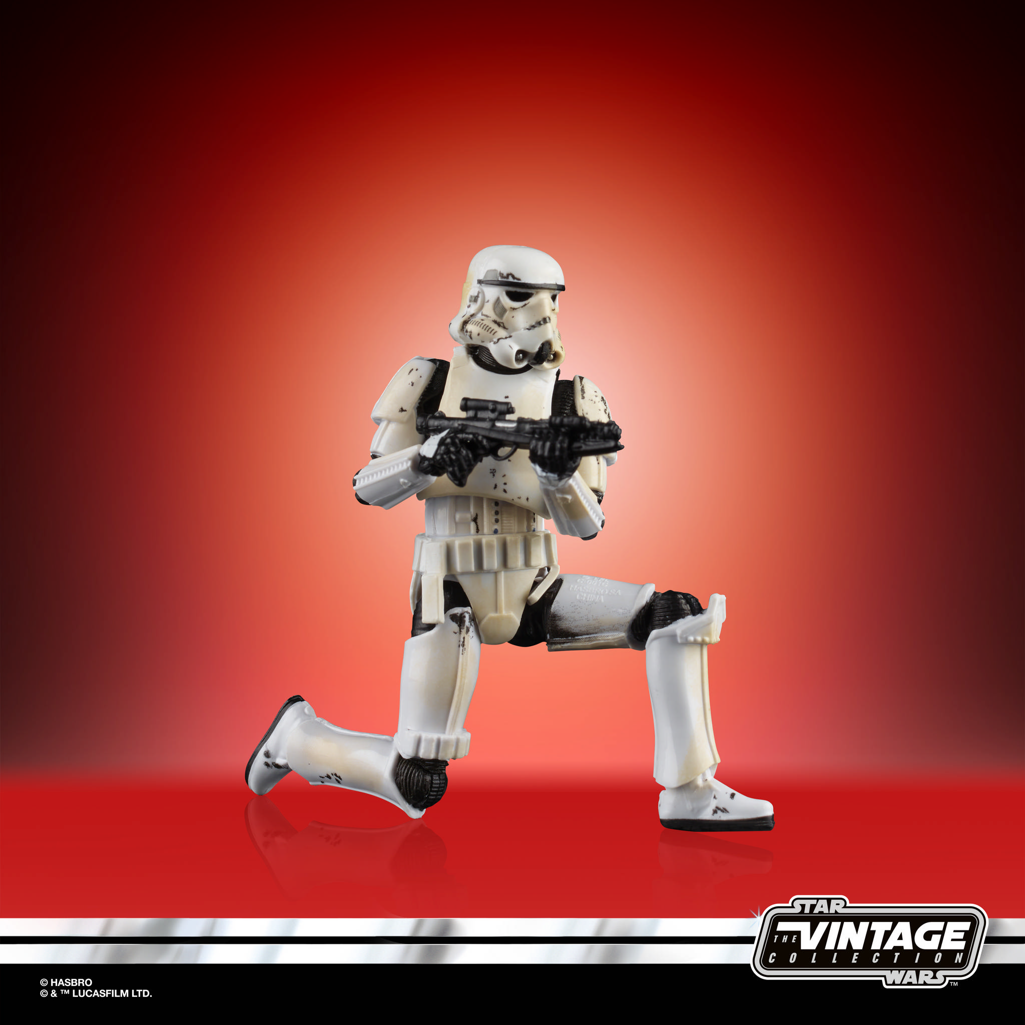 STAR WARS THE VINTAGE COLLECTION 3.75 INCH STORM TROOPER Figure 1