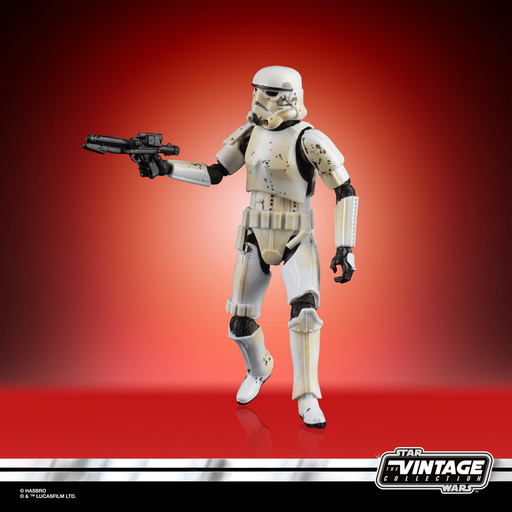 STAR WARS THE VINTAGE COLLECTION 3.75 INCH STORM TROOPER Figure 2