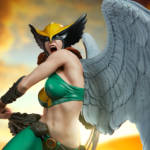Sideshow Hawkgirl Statue 014