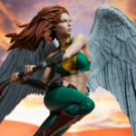 Sideshow Hawkgirl Statue 021