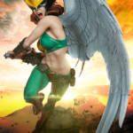 Sideshow Hawkgirl Statue 022