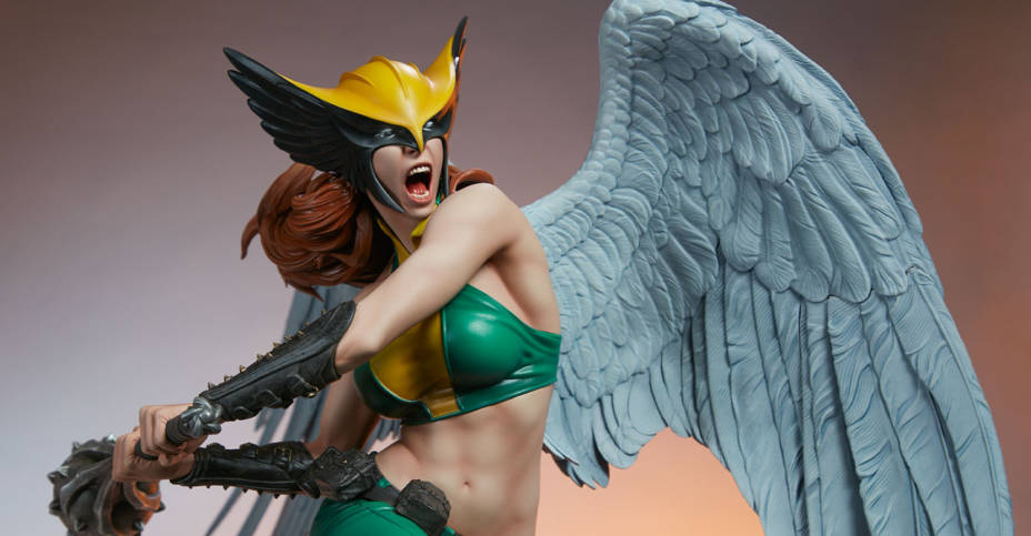 Sideshow Hawkgirl Statue 025