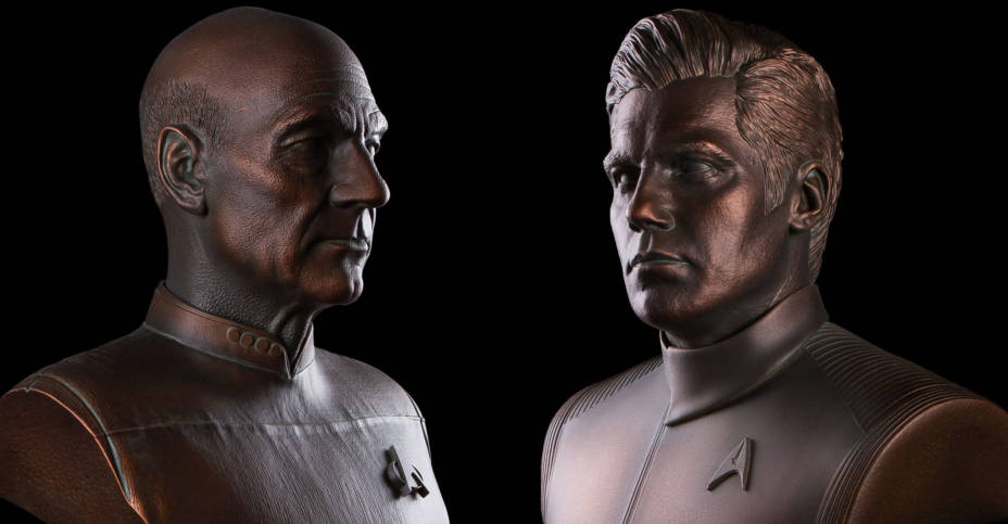 Star Trek Busts by Chronicle