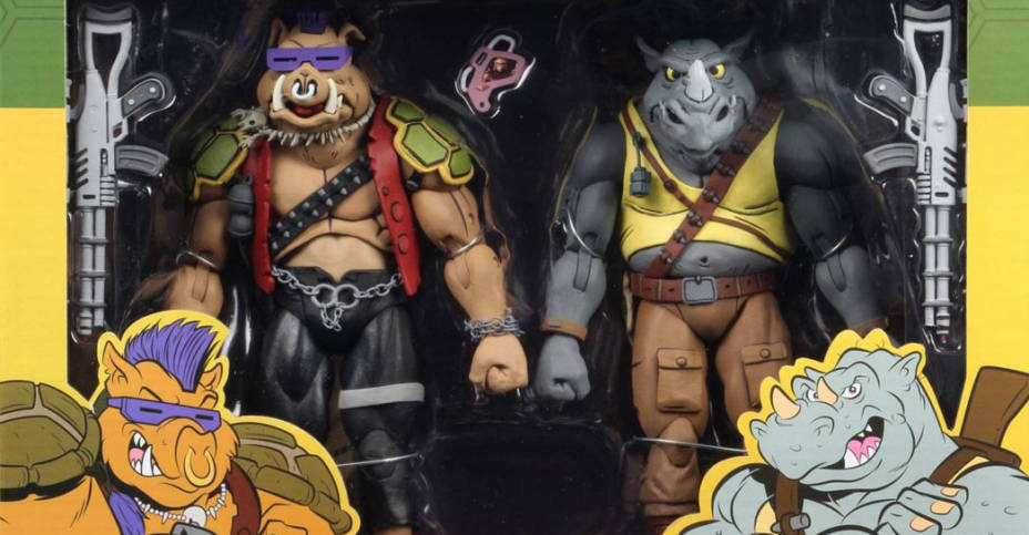 TMNT Wave 2 Bebop and Rocksteady 001