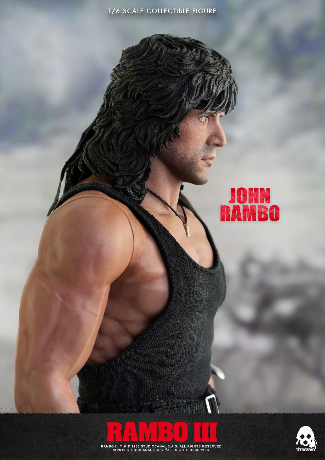 ThreeZero Rambo Preview