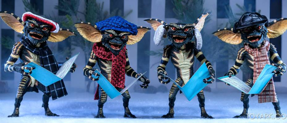 NECA Gremlins Christmas Carol 2-Packs - Toyark Photo Shoot