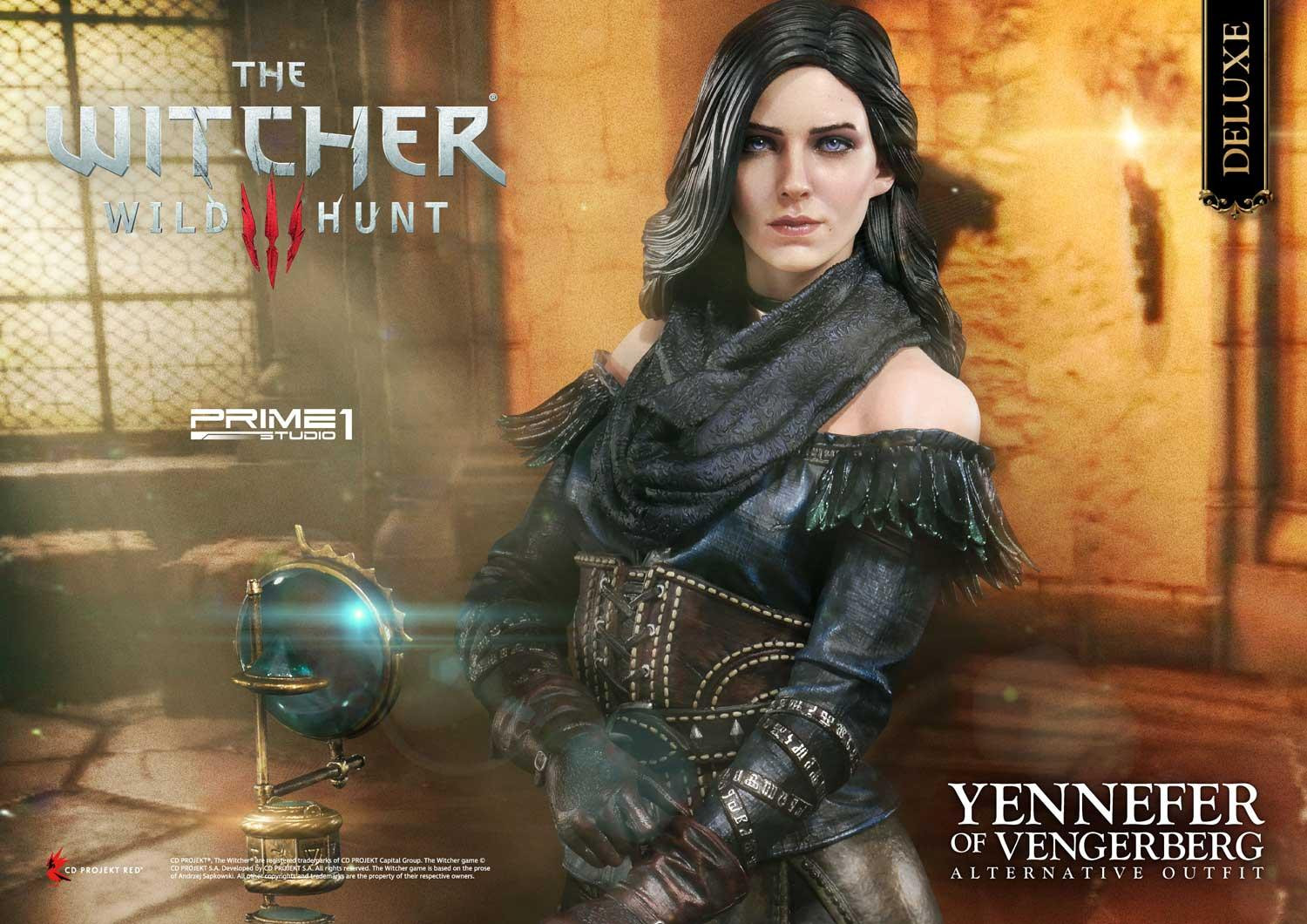 Wither 3 Yennefer Alternative Outfit 001