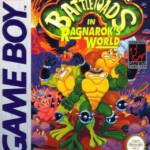 Battletoads Game Cover Gameboy