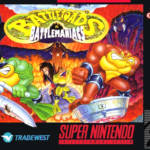 Battletoads Game Cover SNES