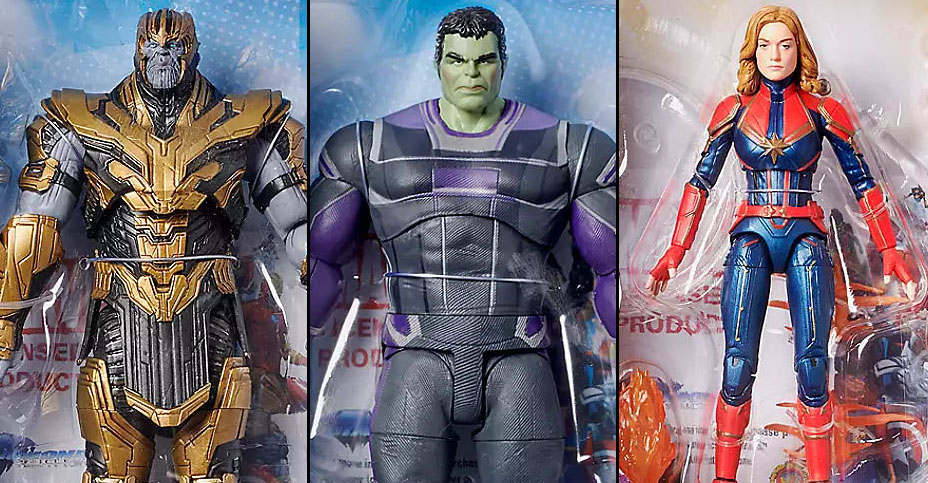 DST Marvel Select Dec 2019