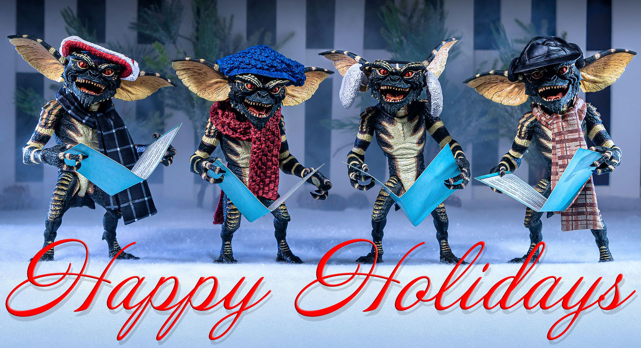 Gremlins Happy Holidays