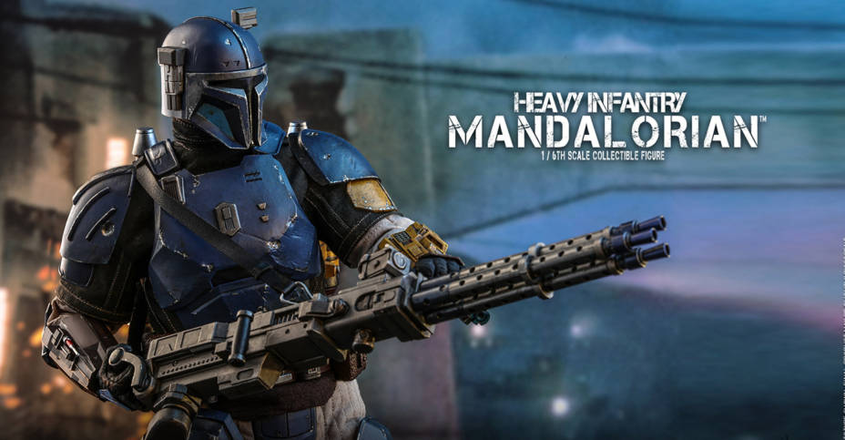 Hot Toys Heavy Infantry Mandalorian 020