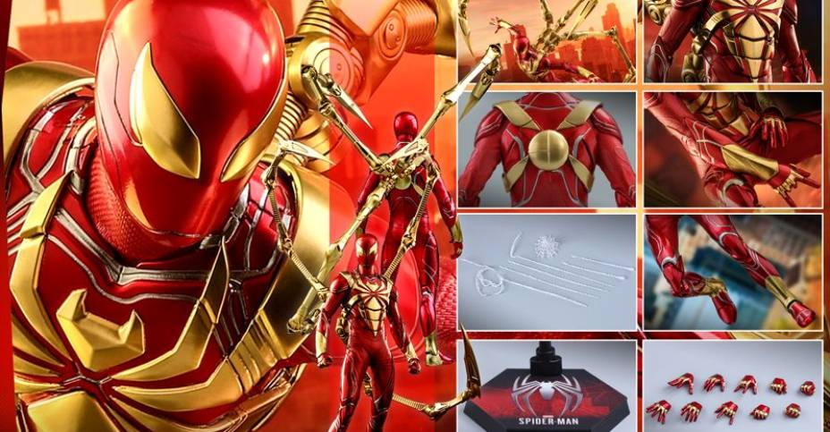 Hot Toys Iron Spider 05