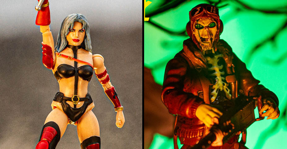 Incendium Heavy Metal Figures Banner