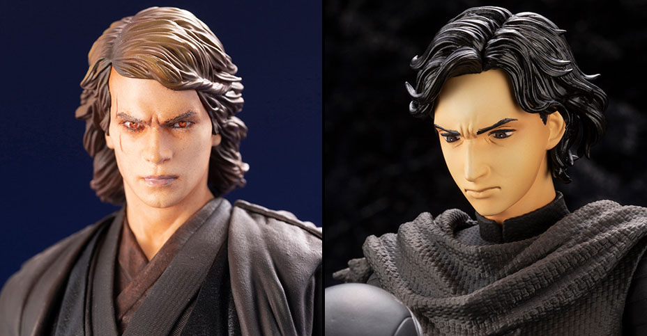 Koto Star Wars Anakin and Kylo Ren