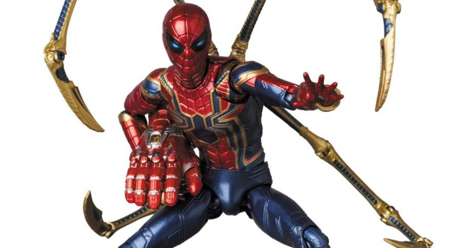 MAFEX Endgame Iron Spider 006