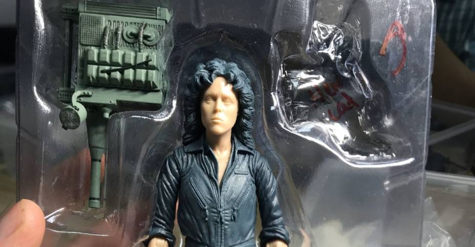 NECA Alien Ripley 40th Teaser