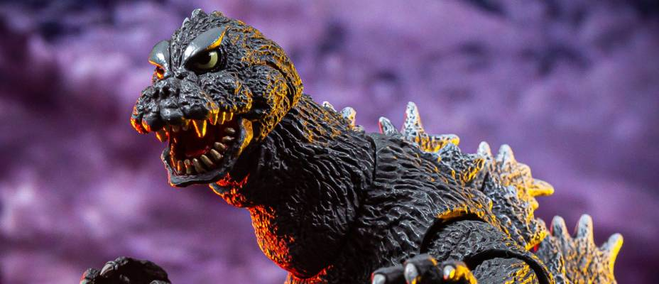 Mothra vs Godzilla (1964) - Godzilla Figure by NECA - Toyark Photo Shoot