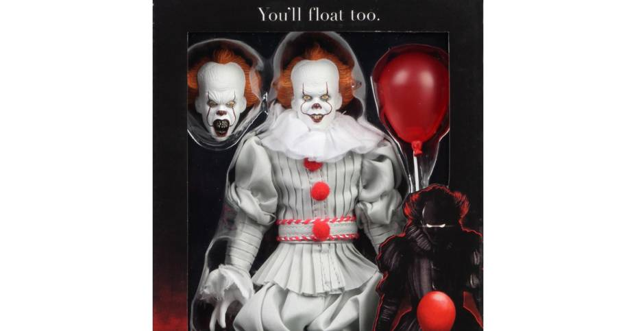 NECA Retro Pennywise Packaging 001
