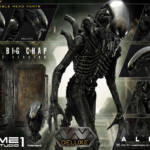 Prime 1 Big Chap Alien 3D Wall Art and DX 002