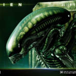 Prime 1 Big Chap Alien 3D Wall Art and DX 016