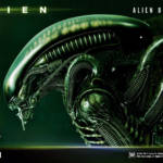 Prime 1 Big Chap Alien 3D Wall Art and DX 034