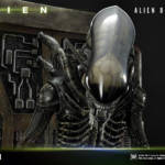Prime 1 Big Chap Alien 3D Wall Art and DX 035