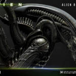 Prime 1 Big Chap Alien 3D Wall Art and DX 037