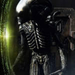 Prime 1 Big Chap Alien 3D Wall Art and DX 040