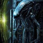 Prime 1 Big Chap Alien 3D Wall Art and DX 041