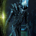 Prime 1 Big Chap Alien 3D Wall Art and DX 042