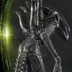 Prime 1 Big Chap Alien 3D Wall Art and DX 043