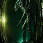 Prime 1 Big Chap Alien 3D Wall Art and DX 046