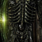 Prime 1 Big Chap Alien 3D Wall Art and DX 054