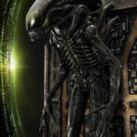 Prime 1 Big Chap Alien 3D Wall Art and DX 055