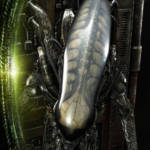 Prime 1 Big Chap Alien 3D Wall Art and DX 058
