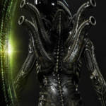 Prime 1 Big Chap Alien 3D Wall Art and DX 064