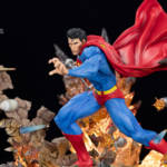 Superman For Tomorrow Statue 006
