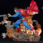 Superman For Tomorrow Statue 007