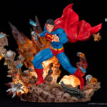Superman For Tomorrow Statue 013