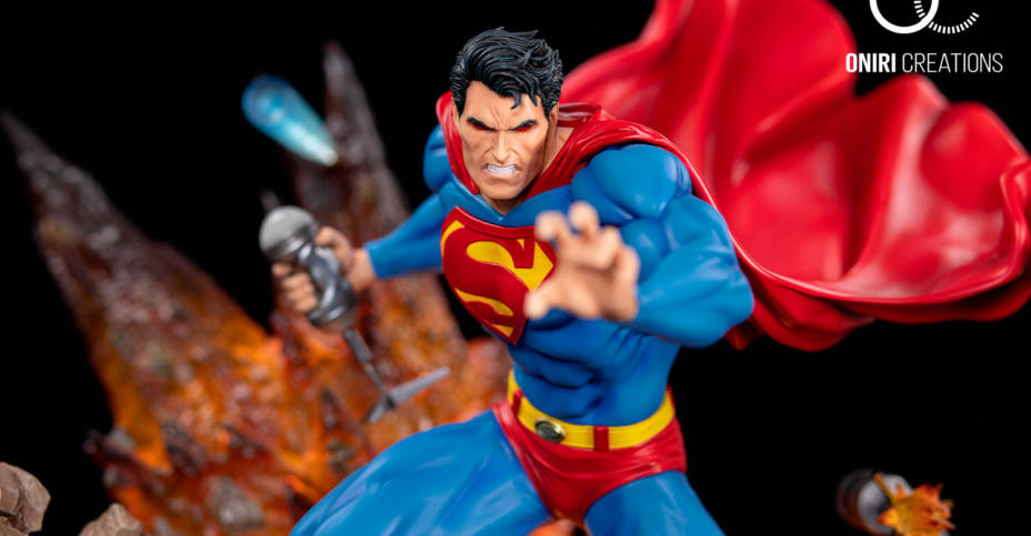 Superman For Tomorrow Statue 015