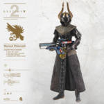 ThreeZero Destiny Warlock Golden Icon 006