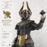 ThreeZero Destiny Warlock Golden Icon 008